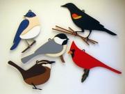 5 birds hanger
