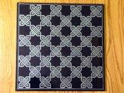 Granite Celtic Knot Chess Board
