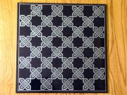 Granite Celtic Knot Chess Board
