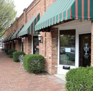 olive storefront