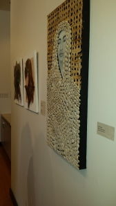 Some of the gorgeous works of art in the Women of Color exhibition at the library's Carnegie Gallery
