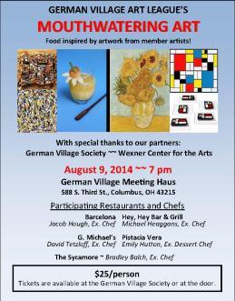 german village art