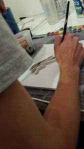 creating at his studio