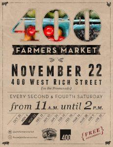 400 farmers' market