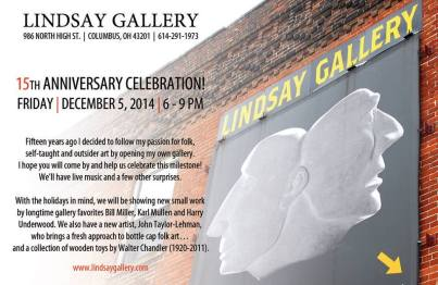 lindsay gallery anniversary