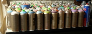 spray paint collection