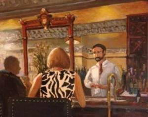 The Attentive Barman (Lindy's)