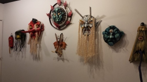 masks by Rob Jones