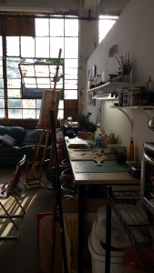 Joshua's studio at 400 West Rich