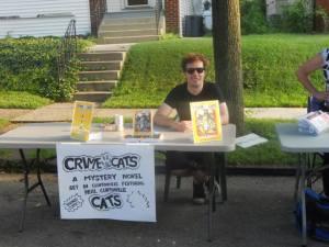 wolfgang selling books