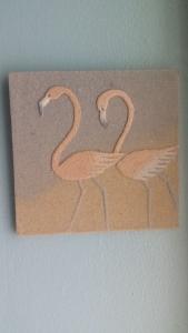 Floridian sand art piece