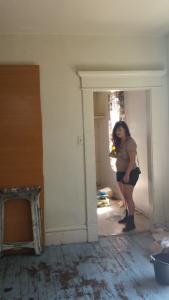 Dana in Phase II building