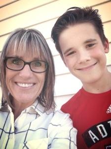 Deb and son, Carson