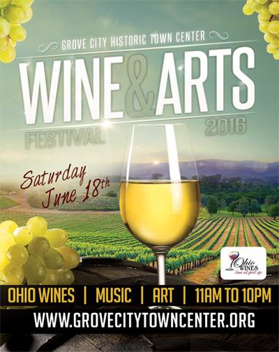 grove city wine and arts fest